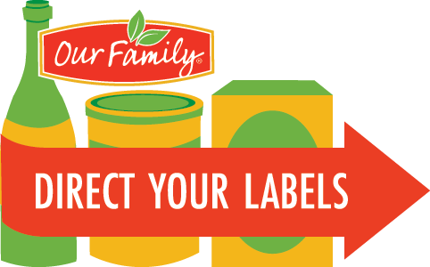 direct your labels our family foods