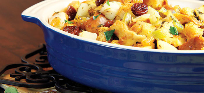 Northwest Stuffing in pan