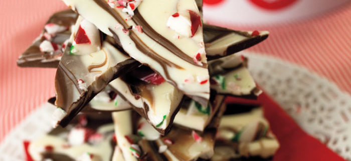 Double-Chocolate Peppermint Bark