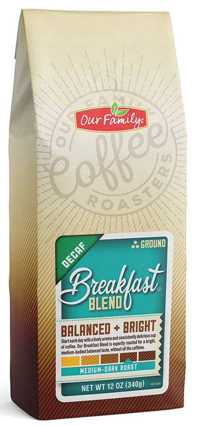 Our Family Ground Coffee - Decaf Breakfast Blend