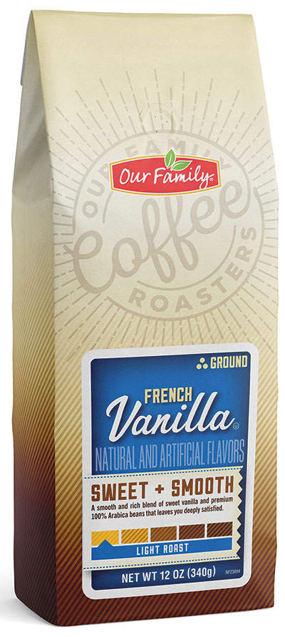 Our Family Ground Coffee - French Vanilla