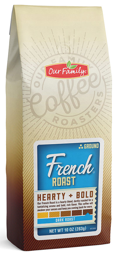 Our Family Ground Coffee - French Roast