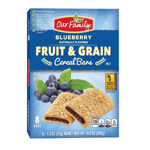 Our Family Fruit & Grain Bars