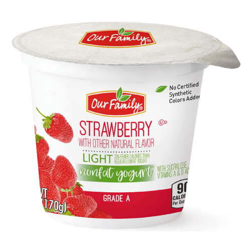 Clean Ingredient Initiative - Strawberry Yogurt