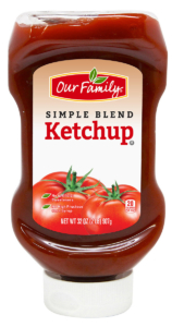Our Family Simple Blend Ketchup