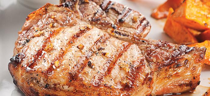 Lager Marinated Grilled Pork Chops