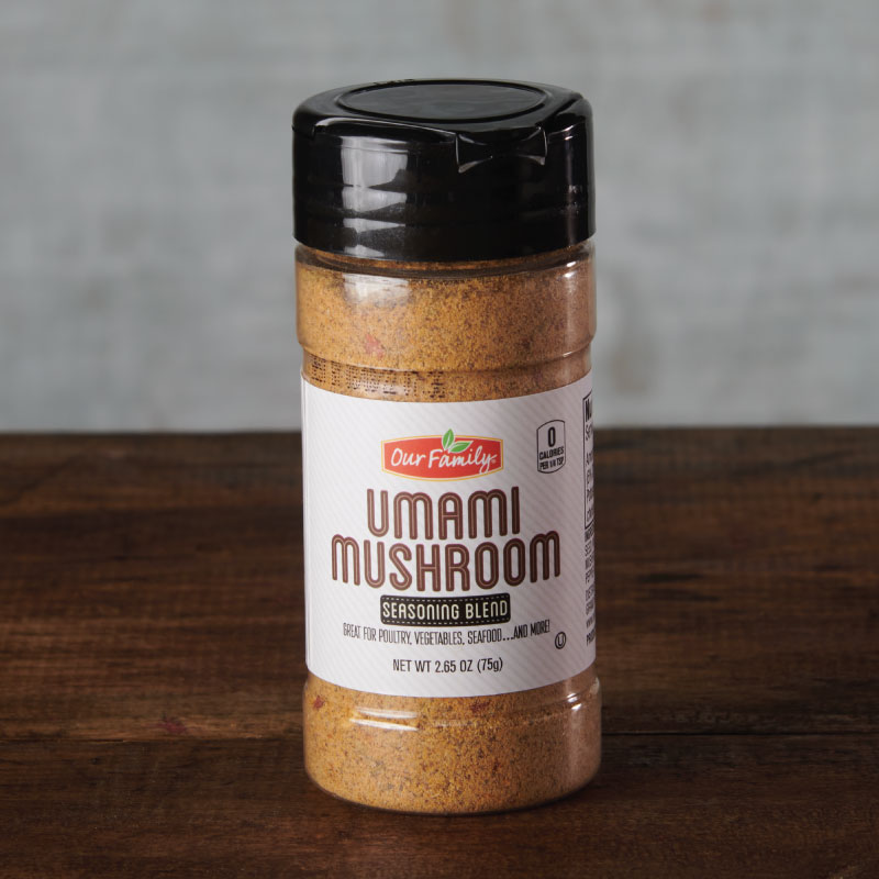 Our Family Umami Mushroom seasoning blend