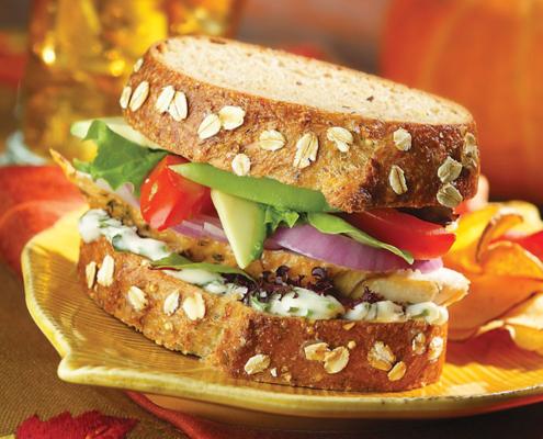 California Turkey Sandwich