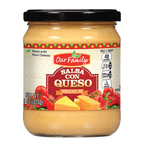 NEW Our Family Salsa Con Queso