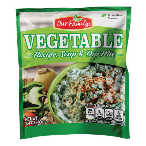 Our Family Vegetable Recipe, Soup & Dip Mix