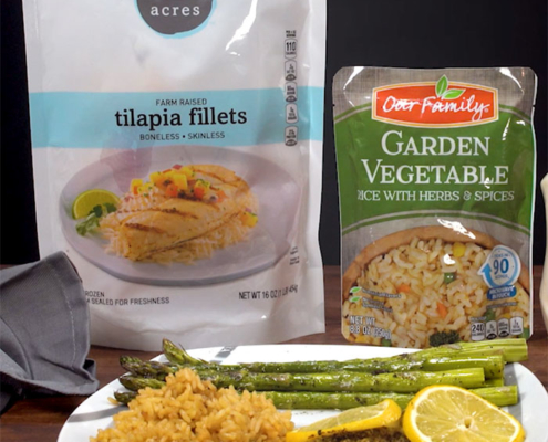 Our Family and Open Acres Tilapia Recipe