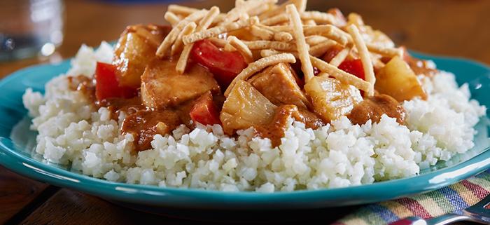 Cauliflower Chicken Satay Recipe