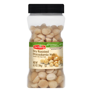 New Item - Our Family Dry Roasted Macadamia Nuts